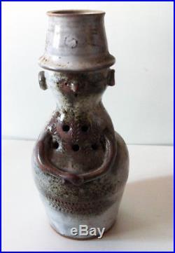 ANCIEN VASE EN GRÈS ANTHROPOMORPHE de THIERRY & CHANTAL ROBERT