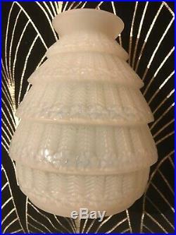 ART DECO R Lalique Vase Ferrieres Opalescent Circa 1929
