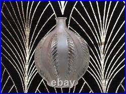 ART DECO R Lalique Vase Malines Circa 1924