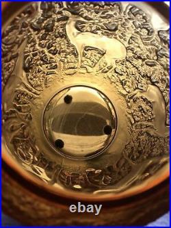 ART DECO René Lalique Vase Biches Circa 1923 Lalique France Vase Lalique