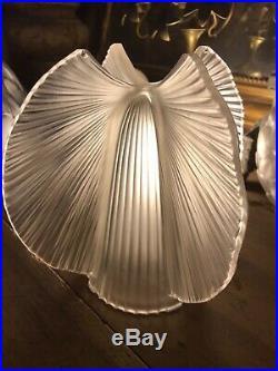 ART DECO VASE PIerre DAvesn CIRCA 1930 Modèle Papillon Signé