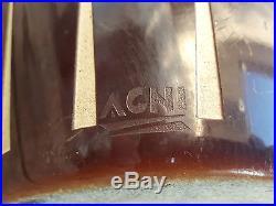 Acni Ancien Vase Epoque Art Deco En Fonte Emaillee Lot 1