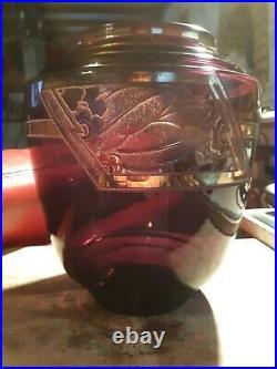 Ancien Vase Art Déco Signée D'argyl 1930's