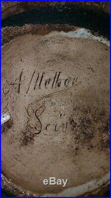 Andre METTHEY VASE ART DECO ART NOUVEAU