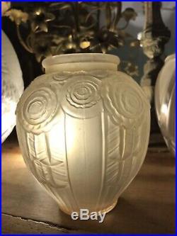 Art Deco Vase Modèle Etrusque Signé A Hunebelle France