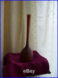 Authentique Vase Soliflore Art Deco Delatte Nancy Pate De Verre No Copy 1920
