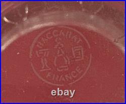 BACCARAT VASE CRISTAL EDITH ART DECO 18 cm BACCARAT ART DECO EDITH CRYSTAL VASE