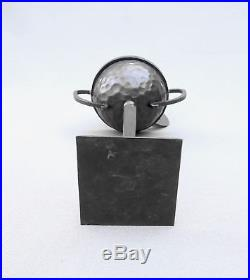 BRULE PARFUM CALICE ou ATHENIENNE EPOQUE ART DECO FER BATTU era ZADOUNAISKY