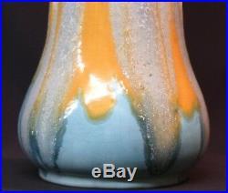 B superbe Gustave de Bruyn grand vase céramique art déco 2.2kg47cm fives lille