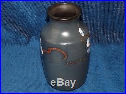 Beau et rare vase ancien, céramique d'Art de Montières Amiens ART-DECO