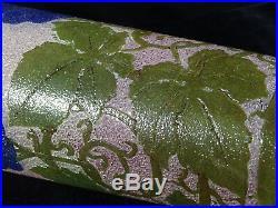 Beau vase art déco dégagé à l'acide vigne verrerie legras