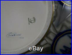 Camille THARAUD, vase chardon, porcelaine émaillée, style art déco, Limoges