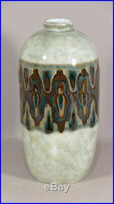 Camille Tharaud, Vase Art Déco Aux Rares Couleurs, Limoges, Vers 1930