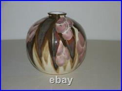Camille Tharaud Vase Boule Limoges Art Deco