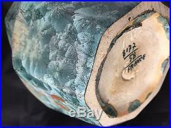 Céramique Vase Irisée Art Déco Iridescent ceramic 1930 Travail Français