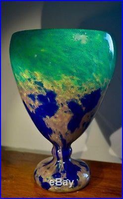 Ch. Schneider Jade Vase Art Déco 1925