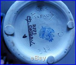 Charles CATTEAU Vase D771 Art-Déco émaux LA LOUVIÈRE grès KERAMIS BOCH FRÈRES