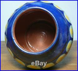 Elchinger Alsace Beau et gros vase Art déco Pottery French