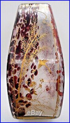 Ernest Léveillé Legras Vase art nouveau-art deco-rousseau, gallé, daum, muller