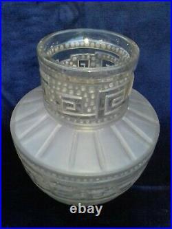 Etling Tateos Vie Eternelle Art Deco Vase En Verre Moule