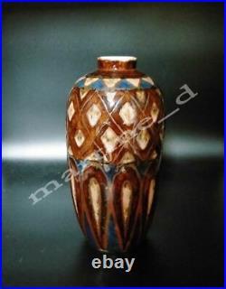 Exceptionnel et grand vase de Camille Tharaud art-déco