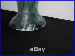 FEMME NUE Peinte sur Vase dans le Style ART-DÉCO / Artiste à Identifier