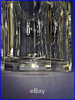 GRAND VASE EN CRISTAL DE BACCARAT MODÈLEEDITH XXème 25cm 4.6KG