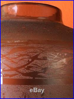 GRAND VASE SCHNEIDER ART DECO 280 mm