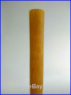Grand Vase A. Delatte Nancy Pte De Verre Art Deco Nouveau Signé 72 CM 1920/30