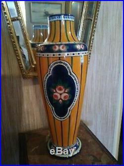 Grand Vase Art Déco signé Alfred Renoleau