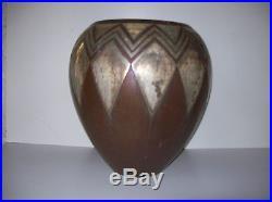 Grand Vase Art déco Christofle Luc Lanel XXe siècle