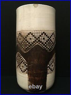 Grand vase africaniste par Jean BESNARD Art Déco 1932