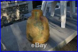Grand vase la chasse ETLING (art deco no muller daum sabino)