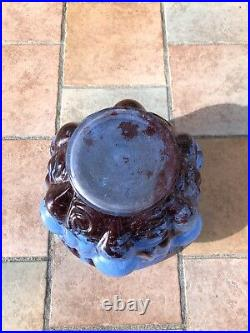 Gros Vase Art Déco Lorrain Daum Majorelle Delatte Rare