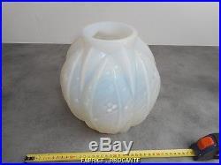 Gros Vase Art Deco Verlys Opalescent 1930
