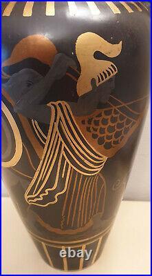 Immence Vase Art Deco Faience De Onnaing Zenon Dufrasne Circa 1920/1930