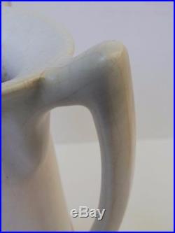 Important vase amphore Art Déco aux 3 anses signé Octave LARRIEU (1881-1965)