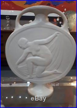 Impressionnant Vase Art Déco Octave Larrieu