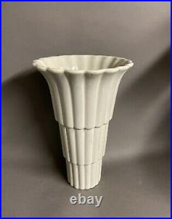 Jean Luce, grand vase cornet, Art deco