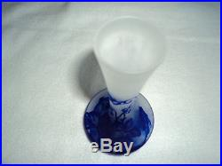 Joli vase c vessiere era daum galle muller pate de verre art deco, nouveau 1900