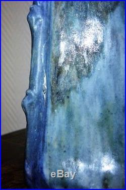Joseph MOUGIN vase La rose art nouveau art déco lunéville