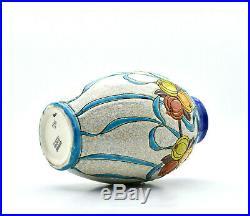 Keramis vase céramique émaillée Belgique Belgium ceramic vase