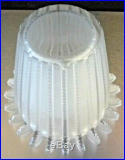 LALIQUE FRANCE Vase Royat cristal art deco daum, sabino, schneider, argy