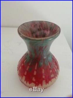LE VERRE FRANCAIS vase art déco