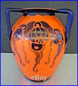 LOETZ RICHARD Superbe vase art nouveau art deco gallé-daum-schneider-kralik