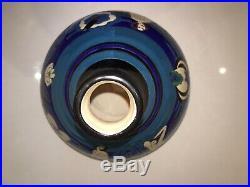 LONGWY PRIMAVERA les naiades Vase en céramique tamponnée. Art Déco