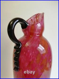 Le Verre Francais. Vase Schneider Pate De Verre Art Deco