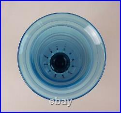 Le verre Français Charles Schneider (1881-1953) Charder Grand Vase Art Déco