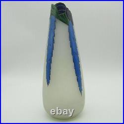 Leune. Important vase émaillé art déco, début XXe siècle