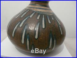 Louis Lourioux 1874/1930 Vase En Gres / Faune/ Art Deco